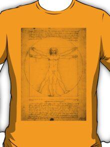 Vitruvian Man, Leonardo Da Vinci T-Shirt