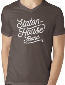Staton-House Band Mens V-Neck T-Shirt