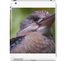 Blue Winged Kookaburra  iPad Case/Skin