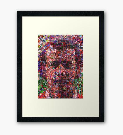 Liam Brady Framed Print