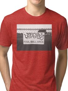Foul Ball Area Tri-blend T-Shirt