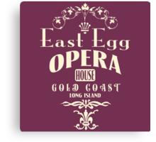 East Egg Opera House Canvas Print