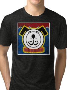 Fisher Price Dog Pop Art Tri-blend T-Shirt