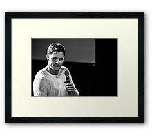 Tahmoh Penikett // Jus In Bello 5, 2014 Framed Print