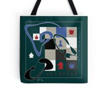 Poetry of chess game 2 Tote Bag