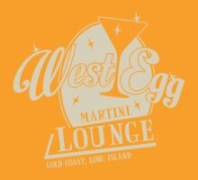 West Egg Martini Lounge by LicensedThreads