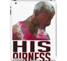Geometric His Airness iPad Case/Skin