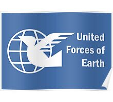 United Forces of Earth Poster