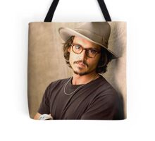 Johnny Depp Glasseyes Tote Bag