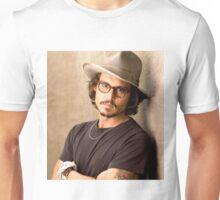 Johnny Depp Glasseyes Unisex T-Shirt