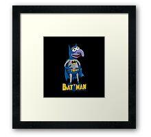 Elderly Superhero Compilation : Mr. Bruce Framed Print