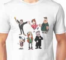 Gravity Falls , Dipper, #FarewellToTheFalls Unisex T-Shirt