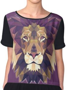 T-shirt Lion Chiffon Top