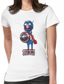 Captain Groover Womens Fitted T-Shirt