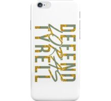 loras tyrell defence force iPhone Case/Skin