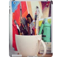 Still Life with Brushes iPad Case/Skin