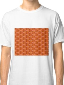 Goyard case orange Classic T-Shirt