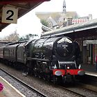 LMS 46233 'Duchess of Sutherland' at Teignmouth by Rorymacve
