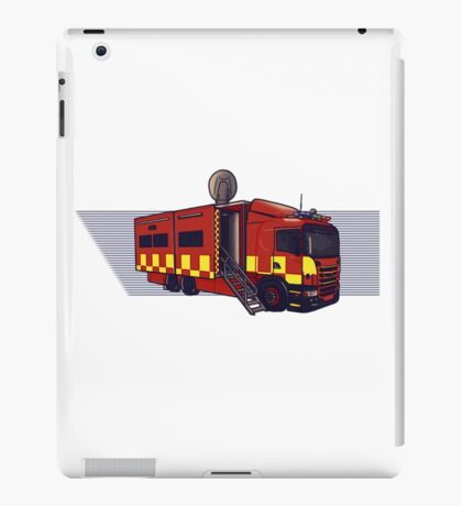 Fire & Rescue Mobile Command. iPad Case/Skin