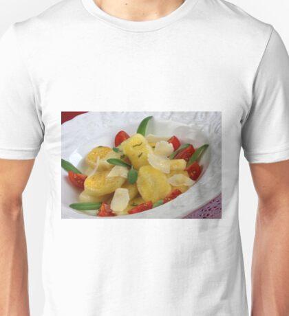 Gnocchi Tricolore Unisex T-Shirt