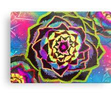 Organic Mandala - Artichoke Metal Print