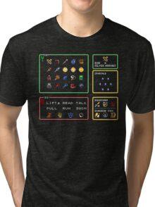 Link the the Past Item Menu Tri-blend T-Shirt