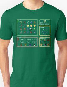 Link the the Past Item Menu Unisex T-Shirt