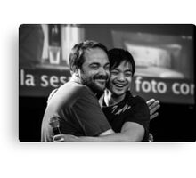 Mark Sheppard and Osric Chau // Jus In Bello 5, 2014 Canvas Print