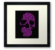 Skull Daddy Framed Print