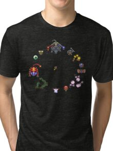 Link to the Past Bosses Tri-blend T-Shirt