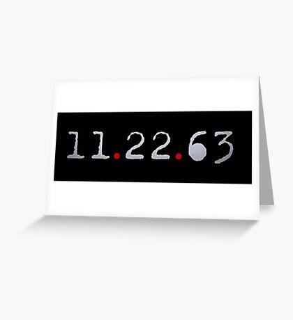 11.22.63 Greeting Card