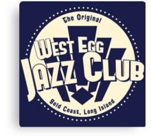 West Egg Jazz Club Canvas Print