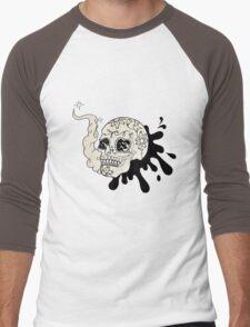 skull Men's Baseball ¾ T-Shirt