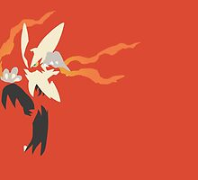 Mega Blaziken by Rebekhaart