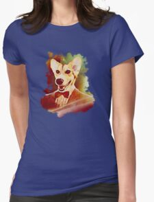 THE 11TH DOGTOR Womens Fitted T-Shirt