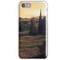 Sunset in Tuscany iPhone Case/Skin