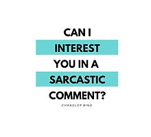Friends: Sarcastic Comment by dictionaried