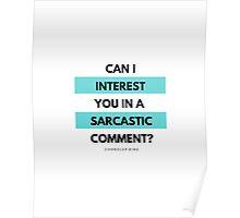 Friends: Sarcastic Comment Poster