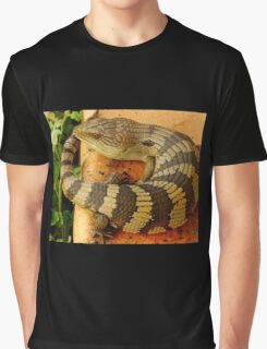 Australian Blue Tongue Lizard Graphic T-Shirt