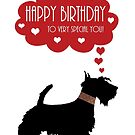 Very Special You With Scottish Terrier - Scottie Dog  by Moonlake