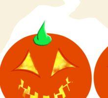 Happy Halloween Jack O Lanterns Spooky Ghostly Spirits BOO! Sticker