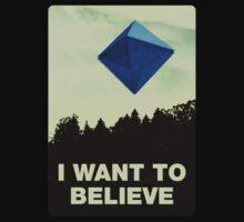 I Want to Believe in Ramiel [Black] Baby Tee