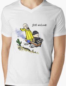 Jesse and Walt Mens V-Neck T-Shirt