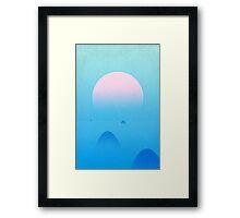 Soleil matinal Framed Print