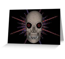SPACE PIRATE Greeting Card