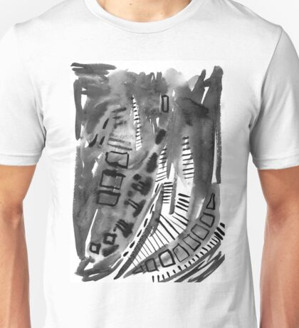 Black and white day Unisex T-Shirt