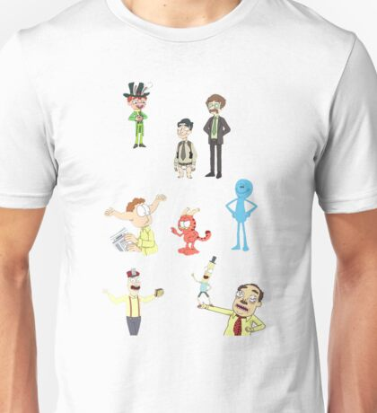 Rick and Morty Random Characters Unisex T-Shirt