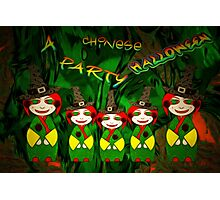 A Chinese Halloween Party Photographic Print