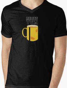 Bruce Tea Mens V-Neck T-Shirt