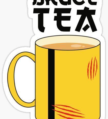 Bruce Tea Sticker